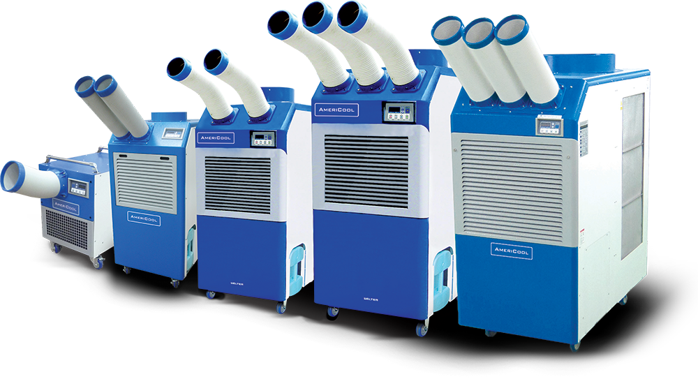 portable air conditioning products commercial ac units industrial cooling systems - Air Conditioning Units